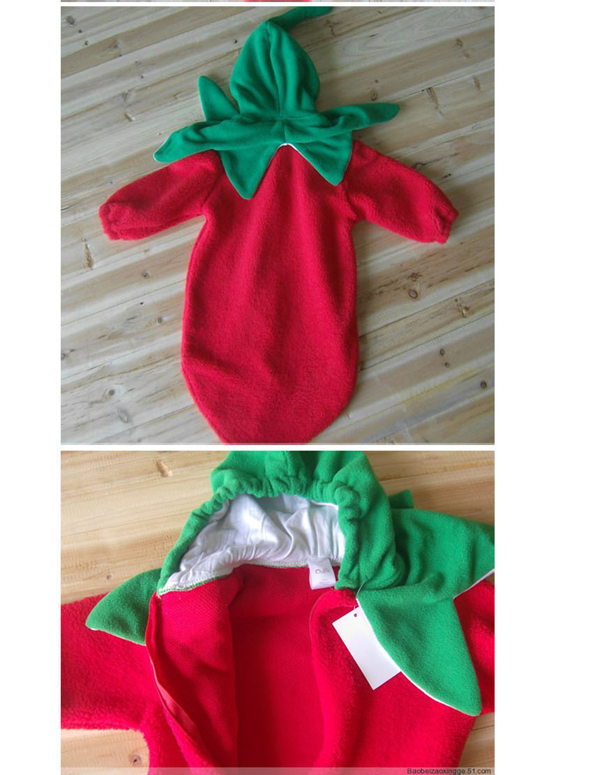 It is the Cartoon Chili Design Infant Baby Sleeping Bag and Warm Swaddle Sack