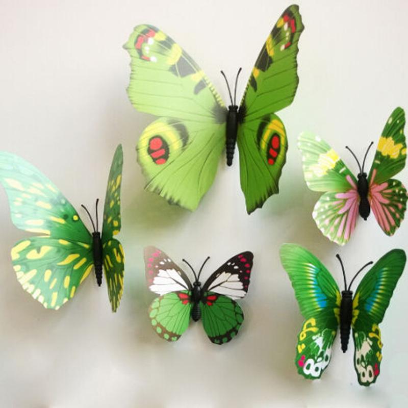 Как сделать 3д бабочку