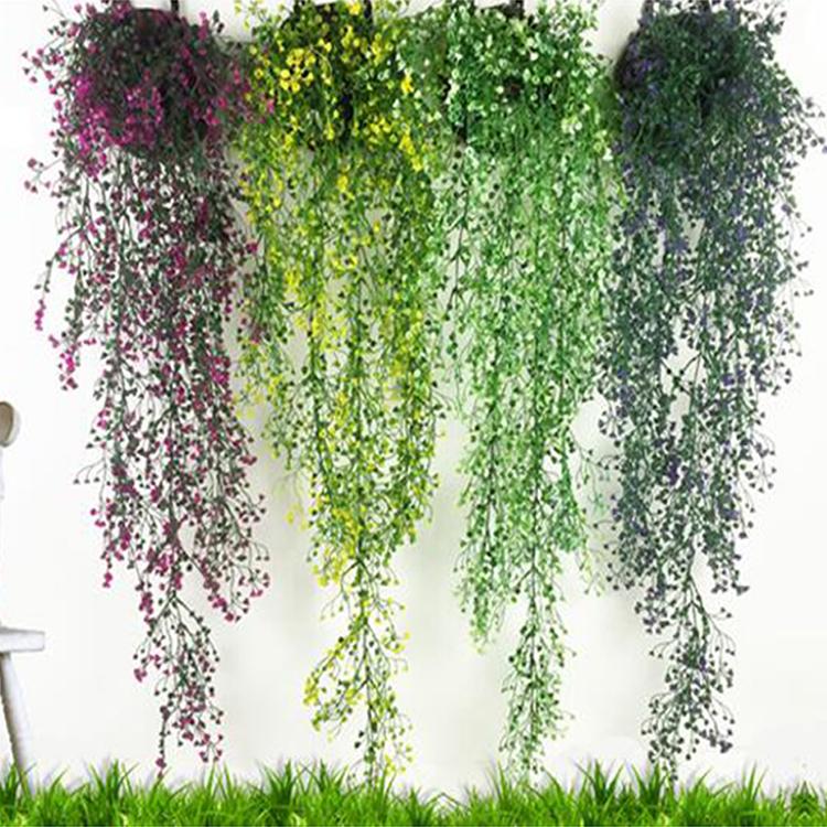 Details about Artificial Fake Silk Vines Flowers Hanging Plant Home Garden  Wedding Decor GZHAU